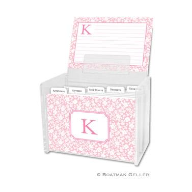 Recipe Box - Petit Flower